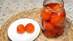 Homemade Preserves Mandarin Preserve - Photo By Thanasis Bounas Mediterranean recipes from Greece [. Greek Desserts, Mediterranean Recipes, Preserves, Pickles, Sweet Recipes, Pudding, Homemade, Vegetables, Fruit