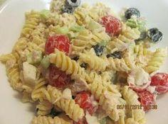 Tuna Pasta Salad-might replace mayo with Greek yogurt