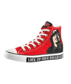 20f1531aac6 AC DC   Metallica x Converse Chuck Taylor All Star Hi  Releasing starting  this month are two packs featuring some of metal s most popular acts in