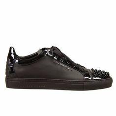 Philipp Plein   Sneakers man   black with studs