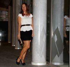 La falda me encanta #Looks #Moda #Tendencias #Dolceevita #Falda #Blusa