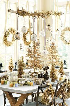 Natal dourado    Eu Decoro