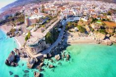 Dronestagram: Amazing travel images from around the world taken by drones.. here's one of Nerja, Spain.