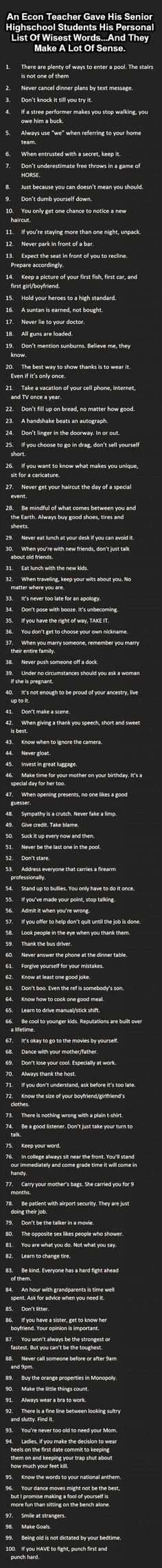 Wow I like a great number of those. Wise words | DailyFailCenter
