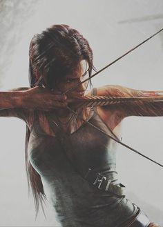 Tomb Raider - Lara Croft archery is so fun Character Inspiration, Character Art, Writing Inspiration, Daily Inspiration, Illustration Inspiration, Orca Tattoo, Tomb Raider Lara Croft, Archery, Raiders