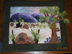Small landscape completed in class with Petal Davies.