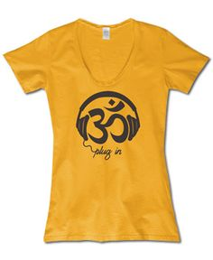 Soul Flower - NEW! Plug In Organic T-Shirt - $26.00
