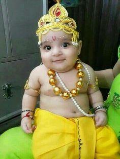 Radha Krishna Wallpaper, Radha Krishna Images, Krishna Radha, Little Krishna, Baby Krishna, Monthly Baby Photos, Baby Silhouette, Laddu Gopal, Baby Month By Month