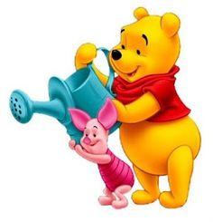Winnie the Pooh Clip Art. Winnie The Pooh Cartoon, Winnie The Pooh Pictures, Love Is Cartoon, Cute Winnie The Pooh, Walt Disney Characters, Walt Disney Co, Disney Art, Eeyore, Tigger