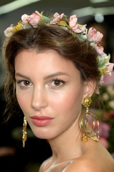 NYFW Makeup Trends Spring/Summer 2015: Get The Look: Dolce & Gabbana.
