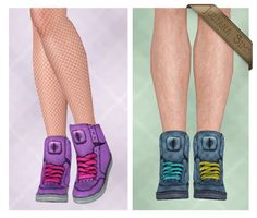 Zika Sneakers for T + A Female Version Fixed by Juliana - Sims 3 Finds