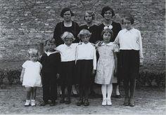 Kinderen van de familie Vissers uit Den Dungen, 23 augustus 1936    Naam Fotograaf: Het Zuiden  Fotonummer: FOTODD.0022