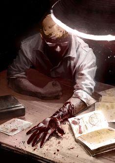 ArtStation - The price of power, Yuliya Litvinova Art CG Hand Blood