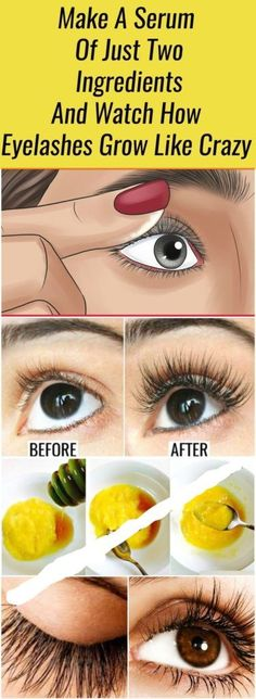 While some rare lucky ones are born with long and thick eyelashes, most women are struggling with rare and short lashes requiring a pounds of mascara and artificial eyelashes to look beautiful and sexy. Make Eyelashes Longer, How To Grow Eyelashes, Thicker Eyelashes, Permanent Eyelashes, Short Eyelashes, Beauty Hacks Eyelashes, Natural Eyelashes, Natural Beauty Tips, Hair Beauty