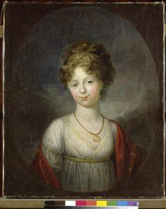 Franz Gerhard von Kügelgen, Grand Duchess Elena Pavlovna, ca.1800