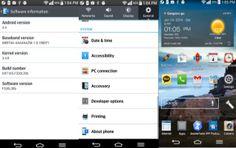 LG G2 Android 4.4 Videos zeigen leicht veränderte UI