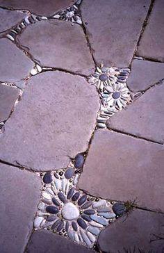 house flower decoration 657807089311288117 - Riverstone mosaics between flagstones. – Gardening support 2019 Riverstone mosaics between flagstones. You are in the right place about easy Garden design Source by schaeferrosannacremin