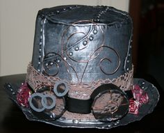 here is another one for Rachael  | Diy Duct Tape Steampunk Top Hat ∙ Version by xXJackkieXx on Cut Out ...