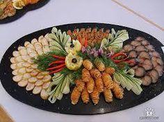 сервировка блюд из рыбы
