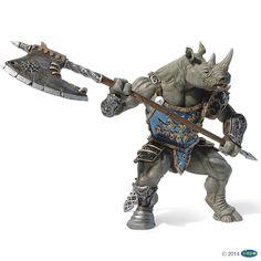 Figurine Rhino mutant - Figurines FANTASY WORLD
