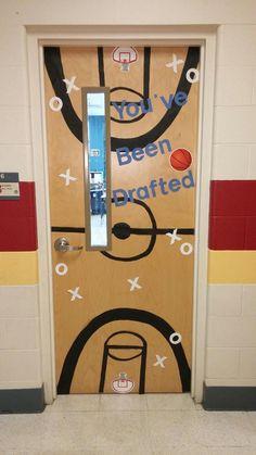 For a basketball themed classroom!