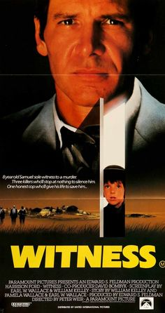 Witness (1985) Original Australian Movie Poster