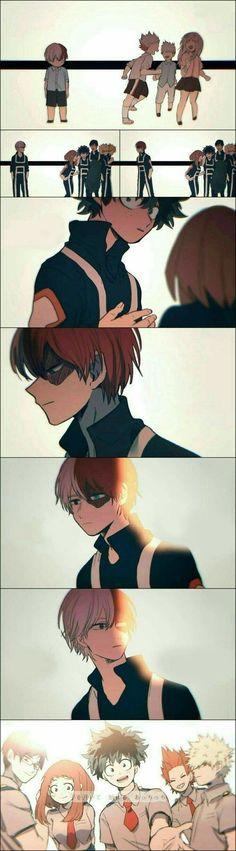 Boku No Hero Academia Funny, My Hero Academia Shouto, My Hero Academia Episodes, Hero Academia Characters, Funny Anime Pics, Sad Anime, Cute Anime Guys, Otaku Anime, Bakugou Manga