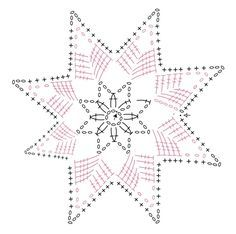Сhristmas snowflakes crochet snowflakes set of 6 Xmas di NLovely Christmas tree decoration with eight different patterns.Tatting Lace Christmas garland white snowflakes - wedding decor - home decor - new vintage - viktorian - home decor - boho chick Crochet Snowflake Pattern, Christmas Crochet Patterns, Crochet Stars, Crochet Motifs, Crochet Snowflakes, Crochet Diagram, Doily Patterns, Thread Crochet, Crochet Doilies