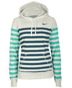 Striped Nike hoodie