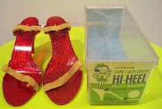 vintage dimestore plastic high heels - Yahoo Image Search Results