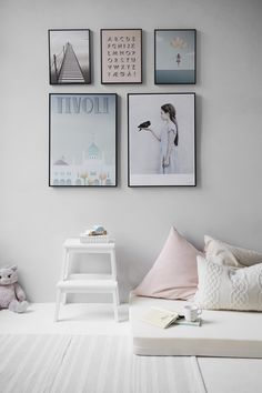 Love the soft hues in this bedroom inspiration.