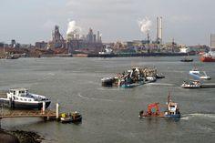 Das holländische Ijmuiden ist der Fährhafen nach Schottland.