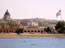 Pierre, South Dakota - Wikipedia on the Missouri River