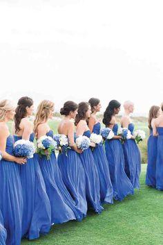 Carolina Blue Bridesmaid Dresses