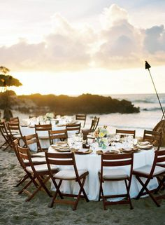 Stunning backdrop for a reception! Four Seasons Hualalai in Hōlualoa, Hawaii #weddings #receptions #destinationweddings