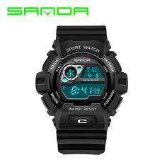 $9.32 (Buy here: https://alitems.com/g/1e8d114494ebda23ff8b16525dc3e8/?i=5&ulp=https%3A%2F%2Fwww.aliexpress.com%2Fitem%2FSANDA-Men-Sports-Watch-Waterproof-Chronograph-Military-Relogio-Masculino-Fashion-Outdoor-Mens-Sport-Digital-Wristwatches-310%2F32771512874.html ) SANDA Men Sports Watch Waterproof Chronograph Military Relogio Masculino Fashion Outdoor Mens Sport Digital Wristwatches 310 for just $9.32