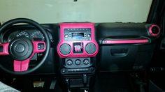 Pink wrangler