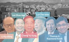 Take Asia's richest man, Li KA-SHING, 86, with an estimated net worth of $33 billion --- ka-shing , like the sound of money