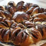Nutellablume (Hefekuchen)
