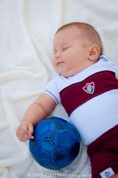 baby boy photo shoot, soccer theme sessao de fotos bebe futebol, fluminense
