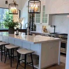 Obsessed with this gorgeous kitchen and home Becki Owens! Click the image to design your own with our free home design app. Keywords: gorgeous homes, beautiful homes, lighting design interior, simple Home Kitchens, Building A Kitchen, House Design, Chic Kitchen, Rustic Farmhouse Kitchen, Kitchen Interior, Interior Design Kitchen, Interior Design Kitchen Small, Modern Kitchen Design
