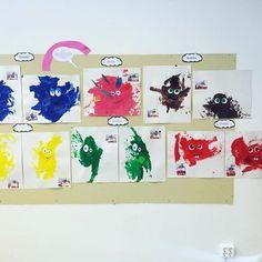 Det har skapats fram babblare av våra 1-2 åringar 😁 #västerbackaförskolor #matsknutsförskola #borlänge #förskola #babblarna #bobbo #babba #bibbi #dadda #diddi #doddo #lärmiljöer Diy For Kids, Crafts For Kids, Painting For Kids, Preschool, Faith, Ark, Frame, Inspiration, Instagram