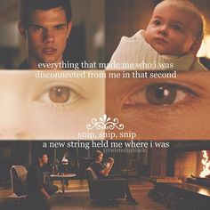 Jacob imprints on Renesmee. Twilight Breaking Dawn, Twilight New Moon, Twilight Series, Jacob And Renesmee, Twilight Renesmee, Forever Love, Always And Forever, Am In Love, Falling In Love