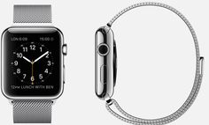 #Apple #Watch  38mm and 42mm Case 316L Stainless Steel Sapphire Crystal Display Ceramic Back  Milanese Loop Stainless Steel Magnetic Closure