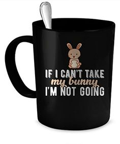 Bunny Coffee Mug. Bunny gift