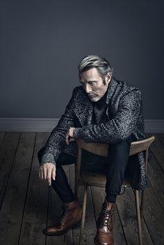 Mads Mikkelsen for Alexa Magazine