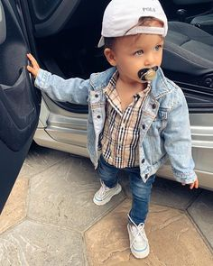 Outfits Niños, Cute Baby Boy Outfits, Toddler Boy Outfits, Cute Outfits For Kids, Newborn Outfits, Cute Baby Clothes, Toddler Boys, Babies Clothes, Toddler Chores