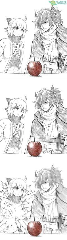 Anime Meme, Manga Anime, Anime Art, Type Moon Anime, Fate Anime Series, Short Comics, Animes Wallpapers, Anime Comics, Funny Comics
