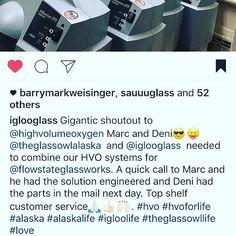 Thanks for the shoutout @iglooglass; sounds like an incredible new venture!  https://www.instagram.com/p/BPTkThthc2V/ via highvolumeoxygen.com