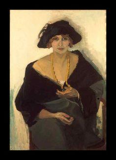 Portrait of a Woman, by Kees van Dongen